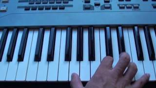 How to play Jealous of the Angels on piano - Jenn Bostic - Part 1 Intro