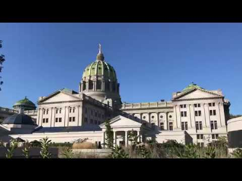 State Capital Harrisburg Pennsylvania USA