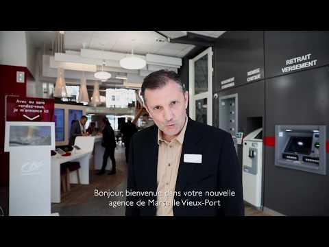 Création de l'agence Crédit Agricole Marseille Vieux-Port : 6 mois en 1min30