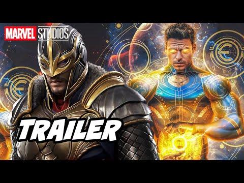 Eternals Trailer 2021 - Marvel and Avengers Endgame Easter Eggs