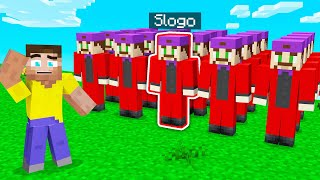 FIND The REAL SLOGO! (Minecraft Guess Who)