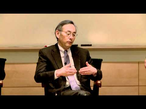 Great Issues in Energy Symposium: Dr. Steven Chu, Secretary of Energy