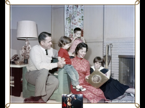 John Agar and family photos with friends and relatives