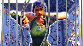 No Skins brechen aus... l Fortnite Prison Break!