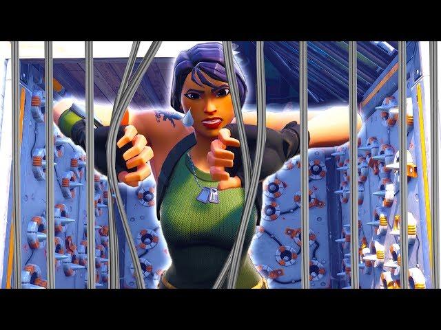 No Skins brechen aus... l Fortnite Prison Break!