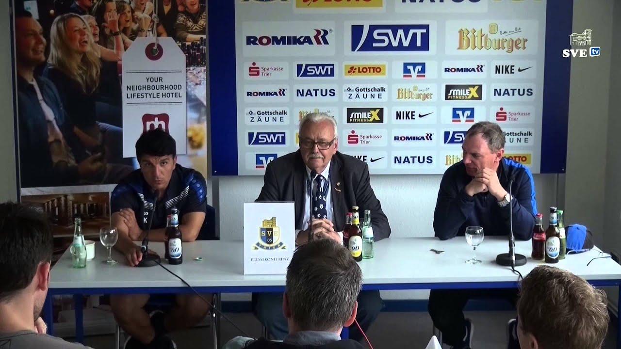 SVE TV SV Eintracht Trier 05  SV 07 Waldhof Mannheim  -> Tv Lowboard Quoka Mannheim