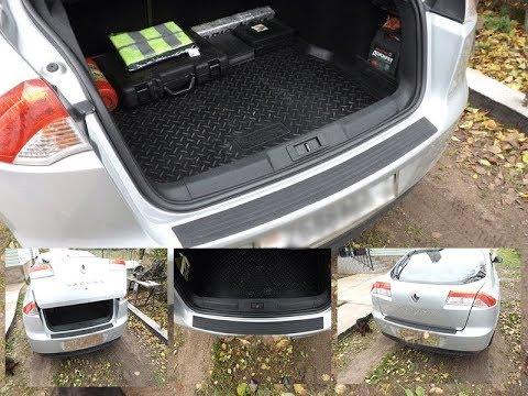 Резиновая защитная накладка на бампер Автомобиля с AlliExpress!