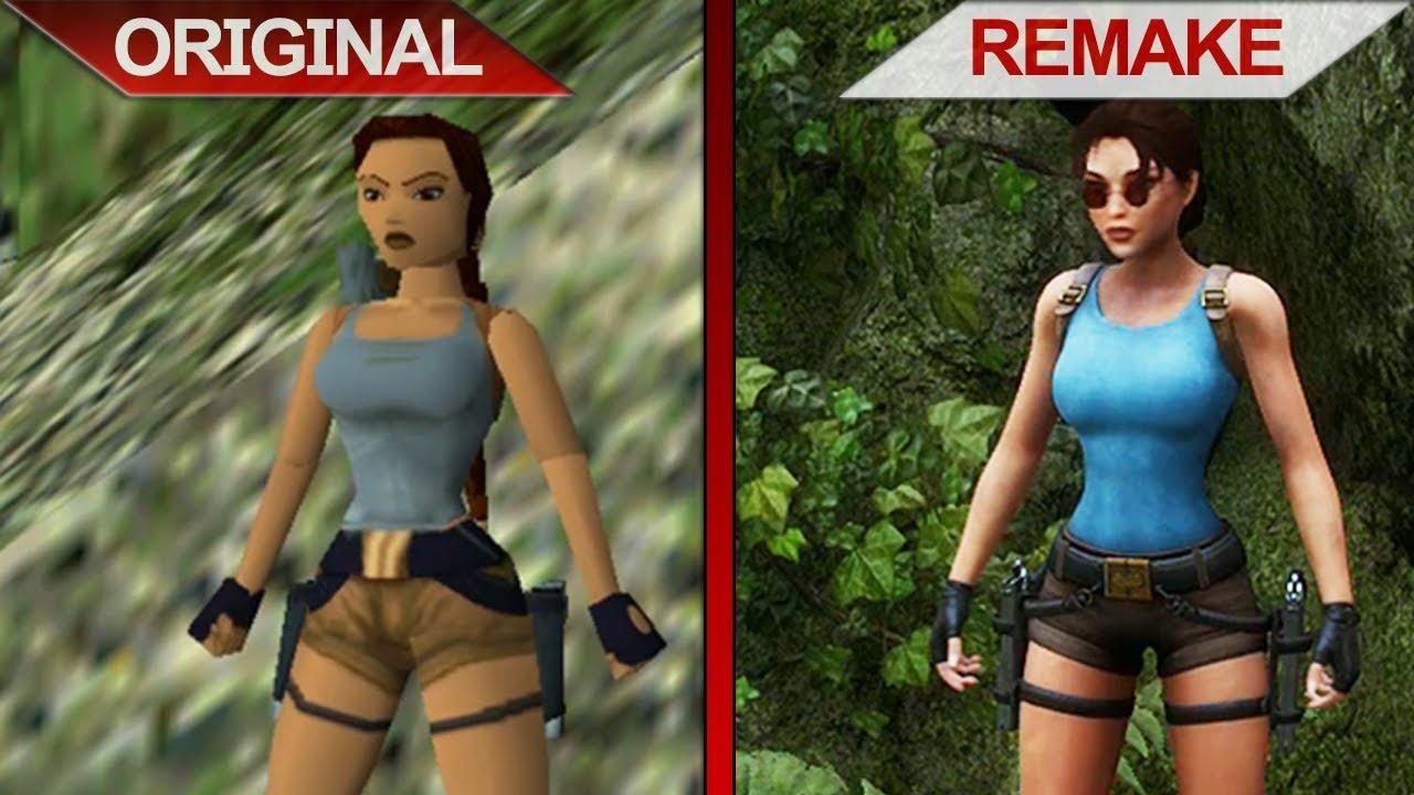 Sbs Comparison Tomb Raider Ii Vs Tomb Raider Ii Remake The