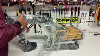 CSMI : Part 2  Ready to run  Radio Contol Excavator unboxing