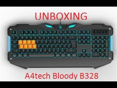 Unboxing A4tech Bloody B328