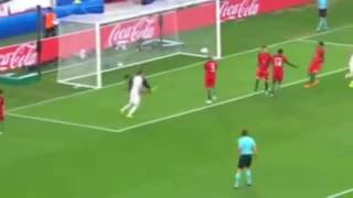 Polônia 1 x 1 Portugal Melhores momentos (EUROCOPA 2016)