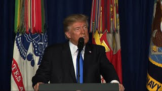 Trump: Not Nation Building, Killing Terrorists