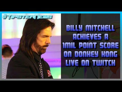 Billy Mitchell Scores 1 Million Points on Donkey Kong LIVE on Twitch