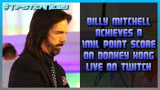 Billy Mitchell Scores 1 Million Points on Donkey Kong LIVE on Twitch