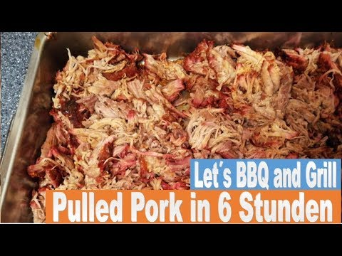 Pulled Pork Texas Style Gasgrill : Pulled pork texas style youtube