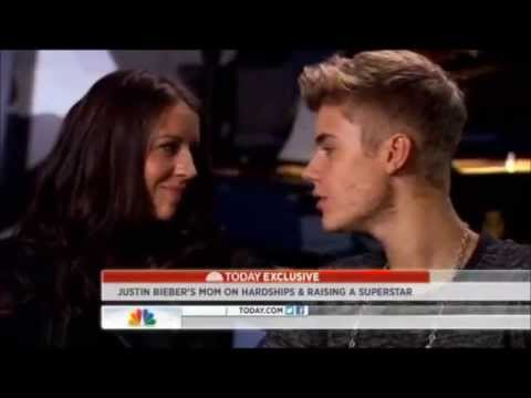 "Justin Bieber Singing ""Turn To You"" To Pattie (His Mom)"