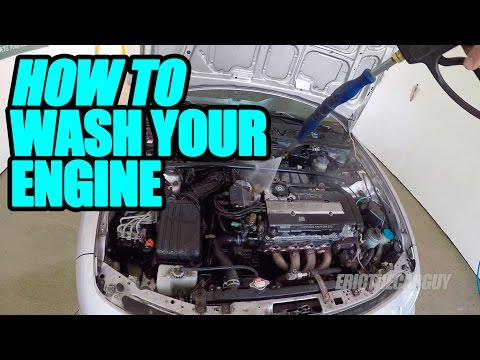 How To Wash Your Engine