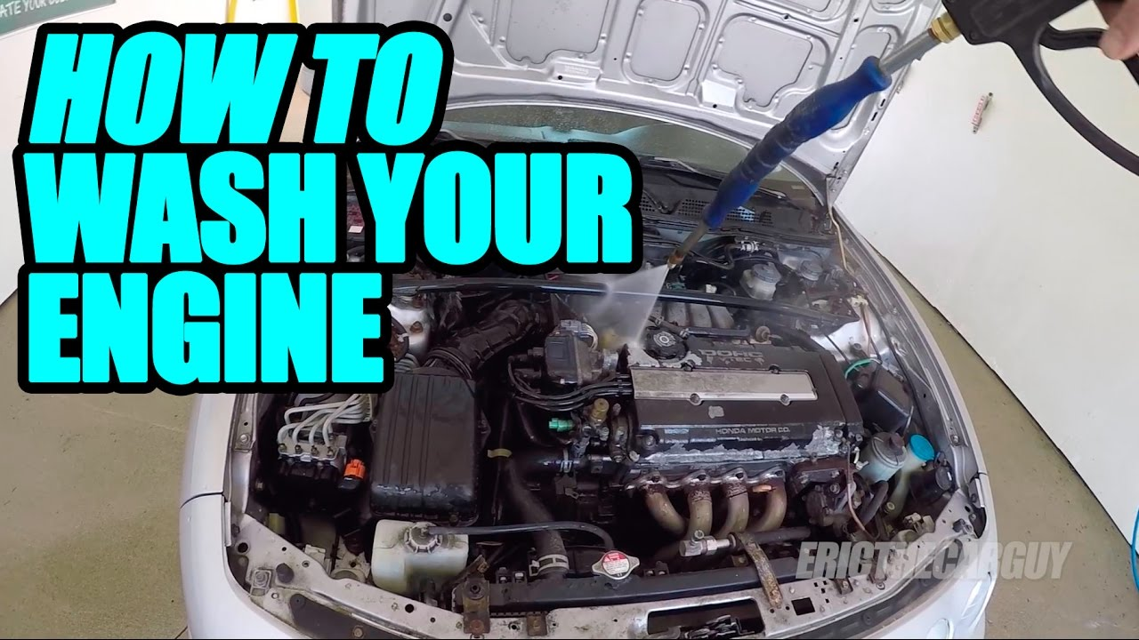 How To Wash Your Engine Youtube 2001 Kia Rio Fuse Box