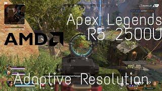Ryzen 5 2500u vega 8 apex legends retest tdp unlocked gameplay