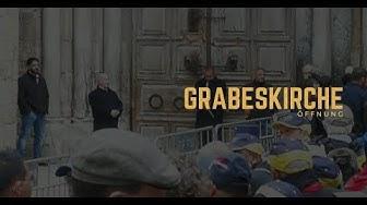 Grabeskirche wird am Karfreitag 2018 geöffnet