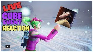 CUBE EVENT Reaction - Fortnite