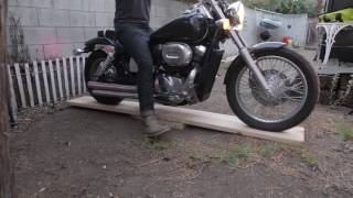 DIY Build a Lazy Susan/Turntable for Your Motorcycle (under $25)