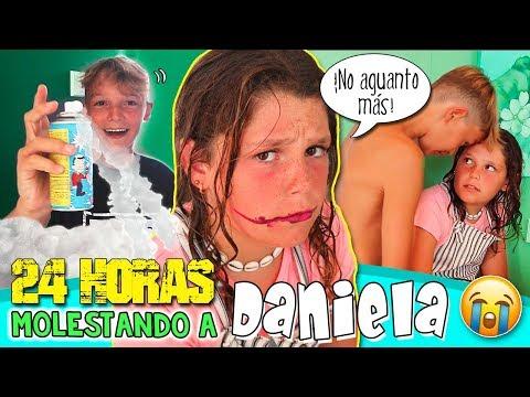 MANERAS De MOLESTAR A TU HERMANA 😱 24 HORAS Hugo MOLESTANDO A DANIELA