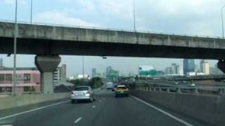 Bangkok Express Way  Road over looking 2