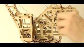 3D конструктор Кран 3д модель обзор