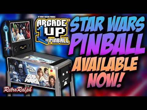 Arcade1up Star Wars Pinball is Here - Pre-Order NOW! from Retro Ralph