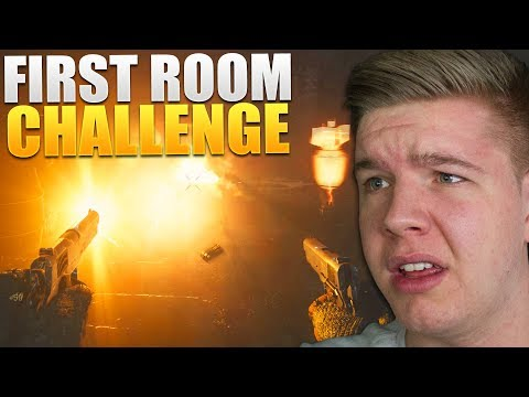 THE SHADOWED THRONE FIRST ROOM CHALLENGE (CoD WWII Zombies DLC 2 The War Machine)