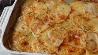 Root Vegetable Gratin Recipe - Easy Root Vegetable Casserole Side Dish