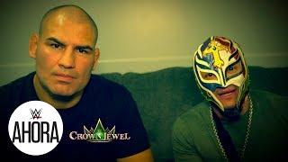 Cain Velasquez y Rey Mysterio, Exclusiva antes de Crown Jewel: WWE Ahora, Octubre 30, 2019