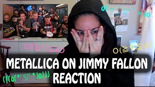 Metallica, Jimmy Fallon & The Roots Sing