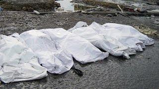 فيديو..العثور على مقبرة جماعية بتدمر