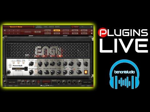 Plugins LIVE - IK Multimedia Amplitube 4 ENGL Powerball