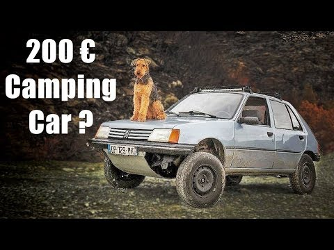 LIVING & TRAVELLING with my DOG in a 200€ Car