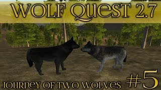 A Wolf Named Pandora 🐺 Wolf Quest 2.7 - Brothers Journey || Episode #5