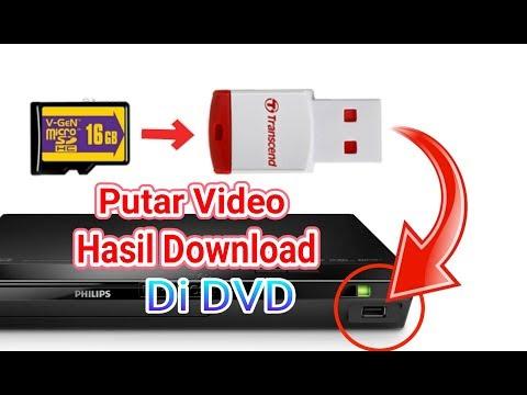 Cara Memutar Video Di DVD Menggunakan Kartu Memori