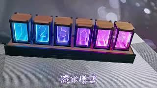 LED 스탠드 거실 인테리어 RGB 빈티지 원목 DIY…