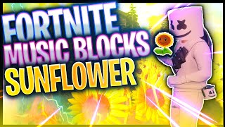 Post Malone, Swae Lee - Sunflower (Fortnite Creative music blocks) par CampYzY (code dans la description)