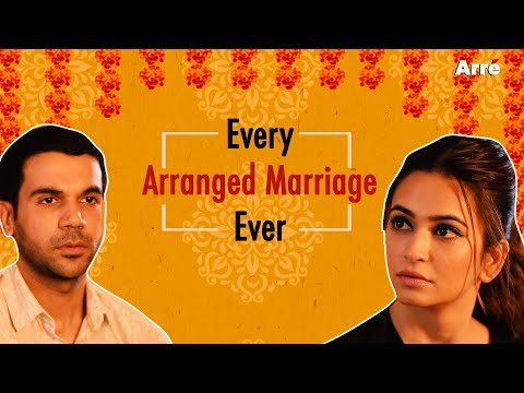 Every Arranged Marriage Ever ft. Rajkummar Rao & Kriti Kharbanda | Shaadi Mein Zaroor Aana