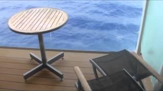 Concierge Balcony Cabin 1289 on Celebrity Solstice