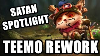 TEEMO REWORK 2015 - Spotlight Patch 5.15 SATAN IS REAL! German / Deutsch LOL