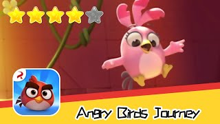 Angry Birds Journey 100 Walkthrough Fling Birds Solve Puzzles Recommend index four stars