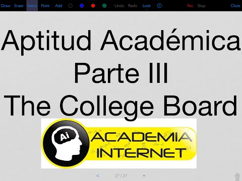 The College Board - Aptitud Académica III, Razonamiento Matemático