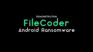 FileCoder Ransomware : Spreading Through SMS