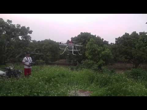 Drone for organic longan farm