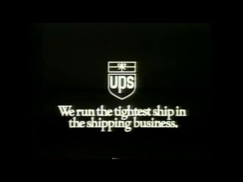 This Program Is Brought To You By UPS Bumper (1991)