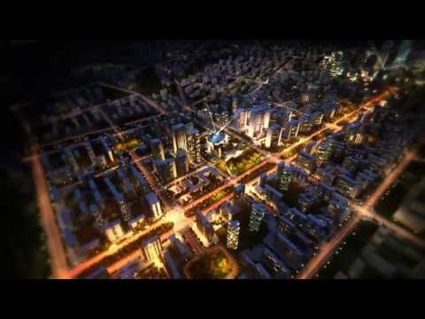 Architectural Master Plan presentation for redevelopment of an airport site in China